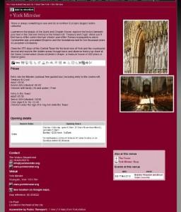 约克大教堂的页面