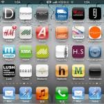 部分英国本土实体零售企业的Apps